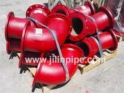 Ductile Iron Pipe Fittings, Double Flanged Bend/Elbow