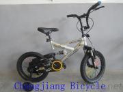 New Model Fashion Children'S Bmx Bike With Suspension And V-Brake