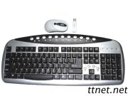Wired Computer Multimedia Keyboard