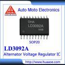 LD3092A Auto Alternator Voltage Regulator ICS MC33092A MC33092 IC