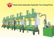 Professional Dual-Mode Automatic Hydraulic Tire Curing Press