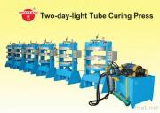 Professional Manufacturer Two-Day-Light Tube Curing Press