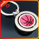Wholesale Round Keychain With Ball Embed For Sports Fans