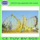 Big Suspended Roller Coaster Of Thrilling Amusement Equipment For Sale