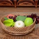 Het rieten Dienblad van het Fruit