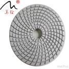4inch Thicken Resin Bonded Floor Refurbish Diamond Dry Polishing Pads Flexible Grinding Disc for Marble