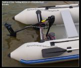 Inflatable Boats with Electric Outboard Trolling Motors