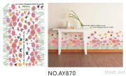 OEM All Kinds Of Removeble Wall Decals Stickers Flowers Wall Decals