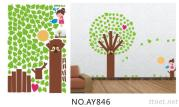 OEM  Removeble Kids Wall Decals Stickers Trees Wall Decals