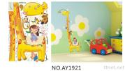 Kids Growth Chart Wall Decals Stickers Kids Growth Chart  Wall Stickers