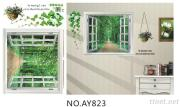 OEM Removeble Windows Style  Wall Decals Wall Art Stickers