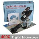 Digital Microscope, 400X USB Microscope, Digital Zoom Micro-Measurement Tool
