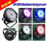 Flat 18*8W 4In1 Outdoor LED PAR Can/ waterproof lights