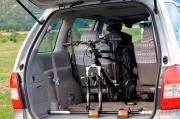 Spare-Tire Aluminum Alloy Bike Carrier, Car Rack