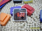 silicone LED digital watch