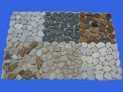 multicolor slate mosaic