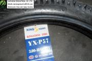 King Stone Motorcycle Tire With Tube Pouplar Pattern