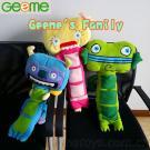 Geeme'S Family S1 Car Seat Belt Pet Pillows