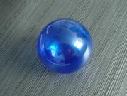 Clear Blue Hanging Hollow Ball