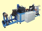 Copper Radiator High Speed Flat Fin Machine With Stacker