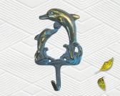 BrassDolphinWallHanger