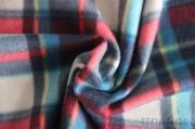 100% Polyester Two Sides Brush Knitting Printing Fleece Fabric