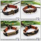 Hot Sell Leather Bracelet For Love And Hope