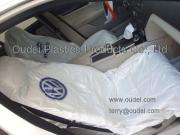 Disposable PE Car Seat Cover with LOGO