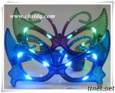 LED Party Glasses Butterfly Decoration