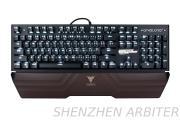 2017 TEAMWOLF wired RGB mechanical gaming keyboard X17 wolesale