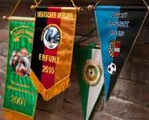 Banderas bordadas