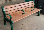 Plastic Wood Benches