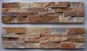 Gold Wood-Grain Cultural Stone