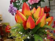 Flor artificial de la flor