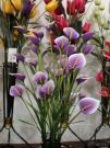 Flor artificial de la flor de seda