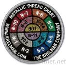 Gesticktes Emblem mit spezieller Funktion u. Material