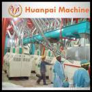 Máquina entera de la molinería del maíz del sistema