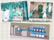 Máquina del molino harinero