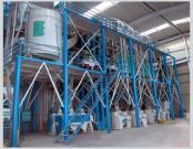 Equipo de la maquinaria de la molinería del maíz de Ugali