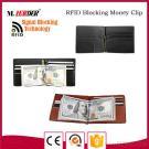 Высокий бумажник кожи держателя кредитной карточки деньг людей типа