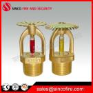 Fire Protection Sprinkler With Chrome Finished For Fire Sprinkler System