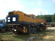 De gebruikte 160T Kranen van de Vrachtwagen Kato