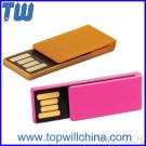 Plastic Office Usage Paper Clip USB Flashdrive Pendrive With Free Logo And Shipment
