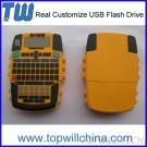 Company Unique Design Custom PVC USB Flash Memory With Free Design Fast Delivery