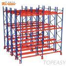 Warehouse Steel Pallet Storage Double Deep Rack