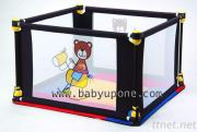 Baby UP One 4-Sided Play Yard / Playpen With Mat