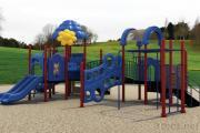 옥외 운동장 장비 또는 위락 공원 운동장 장비