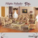 Classic Furnitures - Baroque Style Living Room Sofa Set