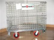 Warehouse Storage Cage With Wheels