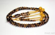 SGI Prayer Beads Nichren 108 Tiger'S Eyes M Size DHL Free Shipping